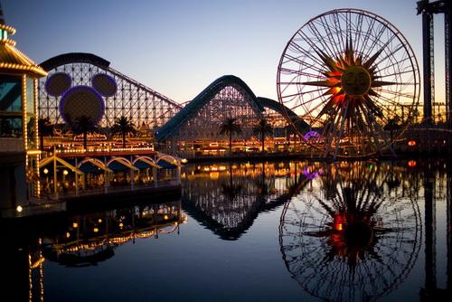 Disneyland-roller-coasters